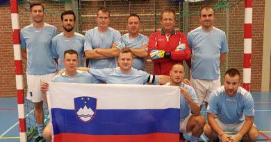 Ekipa IPA Gorenjske uspešna na SP v dvoranskem nogometu