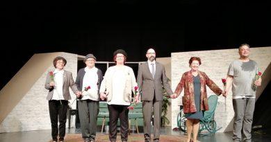 Ob kulturnem prazniku na gledališki predstavi